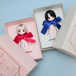 chuchu doll HINA「緋色うさぎ」と「碧色ねこ」