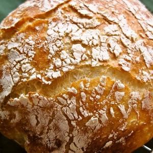 捏ねないパン・2