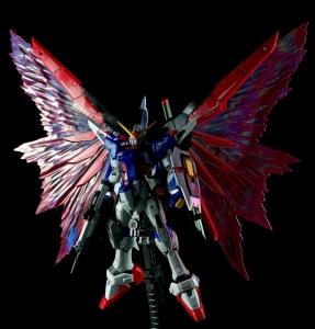 【レビュー】RG デスティニーガンダム+光の翼
