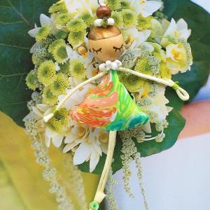 ◆夏らしくなってきたら気になるフラガールドール☆可愛いドールアクセサリー作れます