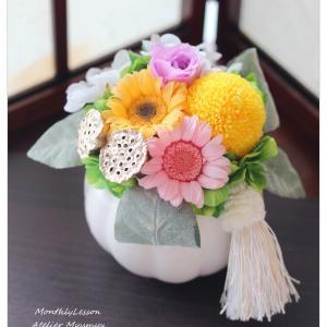 ◆お盆の里帰りにプリザーブド仏花☆お仏壇の大きさに合わせた仏花制作が可能です