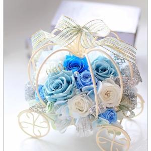 ◆発表会のお礼に バレエの先生に贈るフラワーアレンジメント☆シンデレラの馬車アレンジ