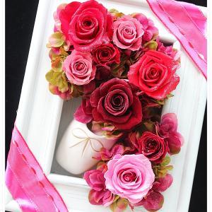 ◆バレエの先生のご結婚祝いにトゥシューズのフレームアレンジ☆ドンキホーテのキトリのイメージで