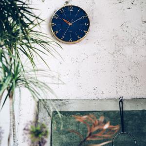 デザインにこだわった、おしゃれな掛け時計