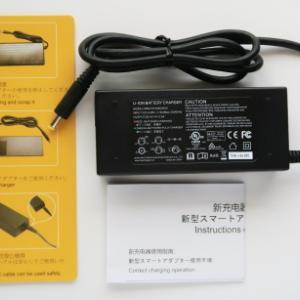 SUAOKIからポータブル電源PS5Bの新ACアダプタが届く