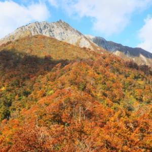紅葉の東壁を観に2ヵ月ぶりの山行: 伯耆大山鳥越峠