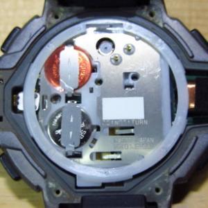 自分で電池交換: プロトレック PRT-400