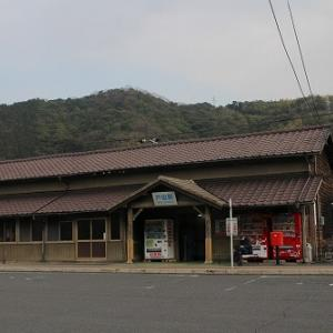 山陽本線戸田駅(山口県周南市)
