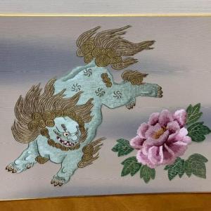 唐獅子と牡丹