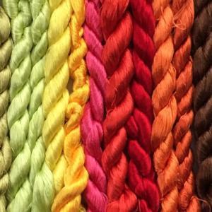 日本刺繍zoomオンラインセミナー 日本刺繍用の絹糸編