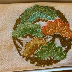 日本刺繍の袱紗