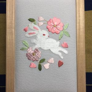中村日本刺繍の新しい教室