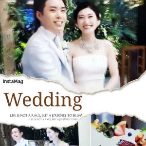 カメリア誕生秘話とオンラインで結婚式でした!ヾ(≧▽≦)ノ