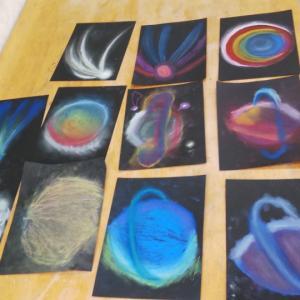 みんなで大宇宙を描こう!(2月9日@富士見町高原のミュージアム)