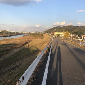 大分川12キロランニング