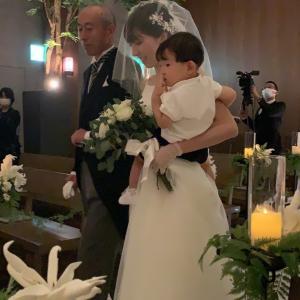 コロナ禍の中 結婚式