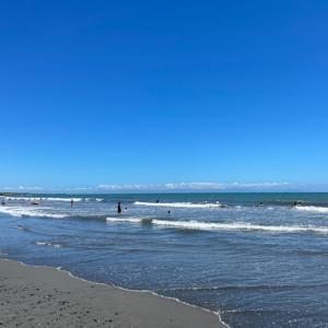 静波海水浴場 2021年