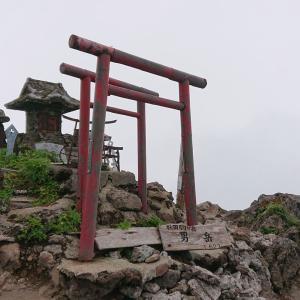 秋田駒ヶ岳&乳頭温泉巡り2020その③『男岳~横岳~大焼砂そして土砂降り』