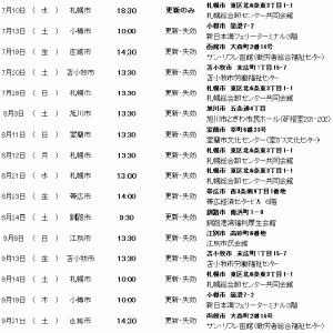 北海道地区、令和元年7月~9月の小型船舶免許の更新等日程について