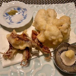 おうちごはん♪初物の鱧の天ぷら