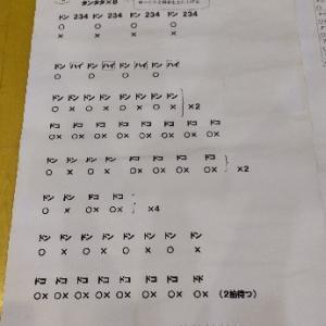 楽譜整理@印岐志呂太鼓練習日