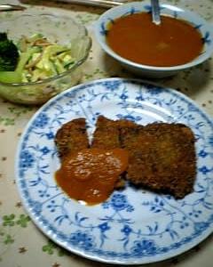 9/25 パパッと米粉と野菜でクッキング のメニューのご紹介