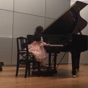 ピアノ発表会 リハ