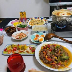 韓国料理風家飲み