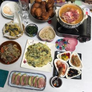 韓国料理風家飲みpart2