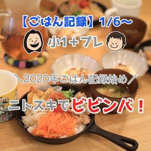 【ごはん記録1/6~】ニトスキを使って「ビビンバ」!