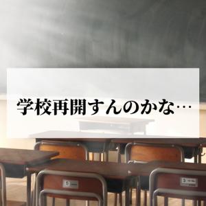 【つぶやき】本当に学校も幼稚園も再開すんのかね…??