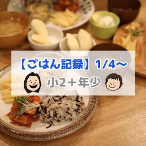 美味しすぎて何回も作ってる!最高に美味しい「春雨サラダ」【ごはん記録1/4~】