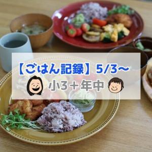 冷凍庫に常備してる業務スーパーの「チキンカツ」【ごはん記録5/3~】