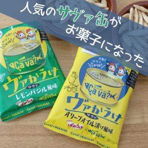 【パケ買い】大人気の「サヴァ缶」がお菓子になった!その名も「ヴァかうけ」!