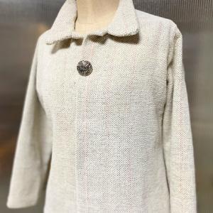 綿モールで素敵な春のジャケット