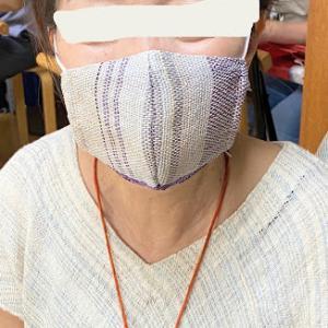 織布のマスク