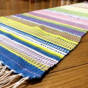ラーヌ織の敷物
