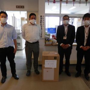 静岡トヨタ自動車様より空気清浄機の寄贈を受けました