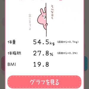 ダイエット1033日目 体重記録のみ