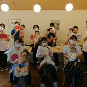 8月の伊勢崎☺️ランチ付きベビーマッサージ