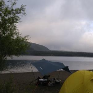 キャンプ場から、おはようございます