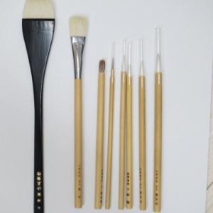 日本画の筆・清晨堂