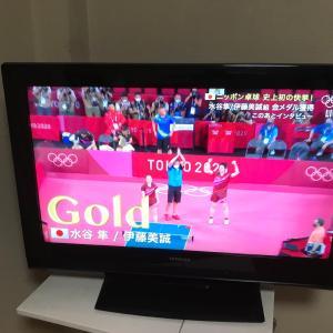 卓球金メダル