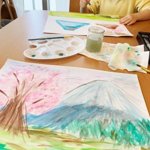 子供との自宅での過ごし方「お絵描き」