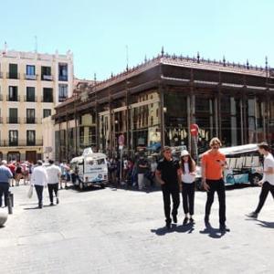 マドリード!楽しみはサンミゲル市場でタパス!