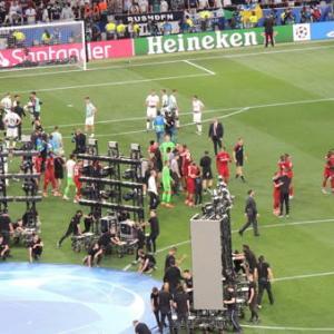 ビッグイヤーを掲げる瞬間!UEFAチャンピオンズリーグ18-19決勝戦