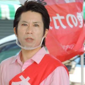 河合ゆうすけさん!青砥での政治活動はスタートから好感触でご機嫌?