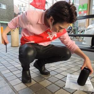 河合ゆうすけさん!6月の青砥駅でリクエストの小田和正を歌う!ちょっとだけ聴いて頂けます!