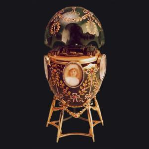 ファベルジェの卵 アレクサンドル宮殿 1908