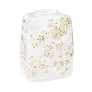 ラリック チェリーフラワーズ 花瓶